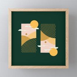 Pencil Scapes 14 Framed Mini Art Print