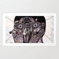 The Deep End (Still Frame 2) Art Print