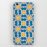 morocco iPhone & iPod Skins featuring Morocco ornament by Galina Khabarova