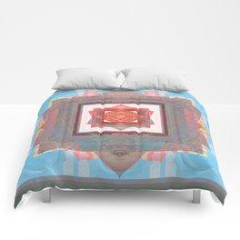 Peace is my Passion Boho Bliss Sacred Geometry Mandala Comforters