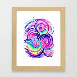 Chill Om Framed Art Print
