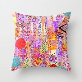 Dance Dots Throw Pillow