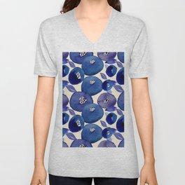 Blueberry blues Unisex V-Neck