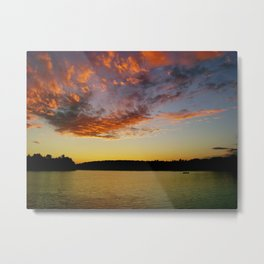 What A Sunset Metal Print