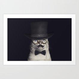 Mr.Cat Art Print