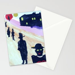 dazed and confused Stationery Cards