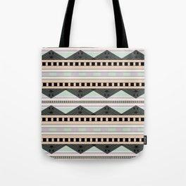 Mint & Peach Tote Bag