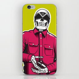 Vato Loco Skull iPhone Skin