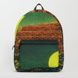 The Entire City by Max Ernst Backpack