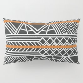 Tribal ethnic geometric pattern 022 Pillow Sham