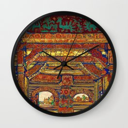 Nicholas Roerich - Snegurochka - Digital Remastered Edition Wall Clock