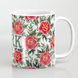 Jerk - Vintage Floral Tattoo Collection Coffee Mug