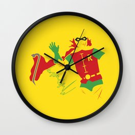 Disposable Sidekick Wall Clock