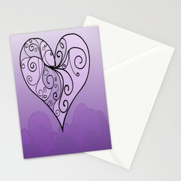 Heart Intricacy Stationery Cards