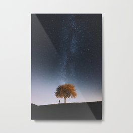 Light and Magic 001 // Tree Gazer Metal Print