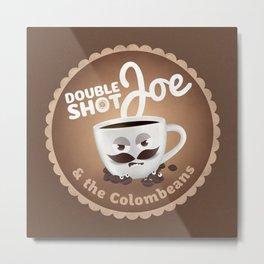 Doubleshot Joe Metal Print