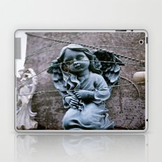 Little blue angel Laptop & iPad Skin