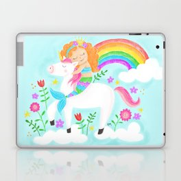 Unicorns, Mermaids & Rainbows...Oh My! Laptop & iPad Skin