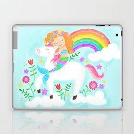 Unicorns, Mermaids & Rainbows...Oh My! Laptop & iPad Skin