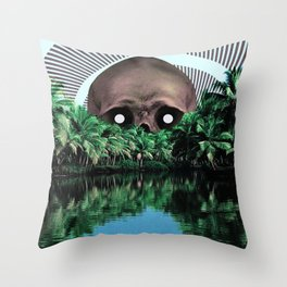 The cannibal Throw Pillow