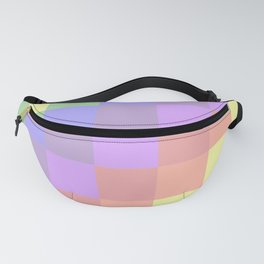 Faded Rainbow Quilt Fanny Pack