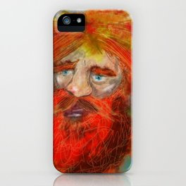 BOOMING Ben the Story teller iPhone Case