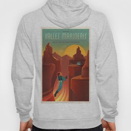Vintage Adventure Travel Olympus Mons awaits Hoody