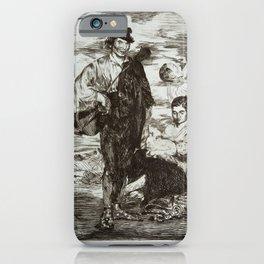 Édouard Manet - The Gypsies (Les Gitanos) iPhone Case