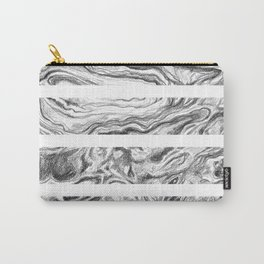 Point Lobos Stone- Stripes Carry-All Pouch