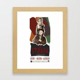 La Strada Framed Art Print