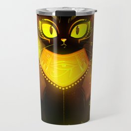 Bastet- the Goddess of Cats Travel Mug