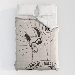No Probllama Comforters