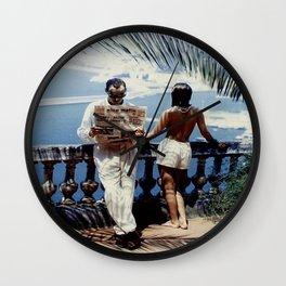 Nice Matin Photo Wall Clock