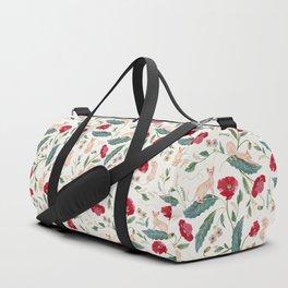 Ramona Poppy off-white Duffle Bag