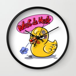 What da heck Wall Clock
