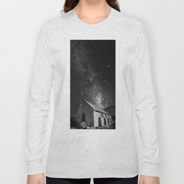 Church of the Good Shepherd under the stars. Long Sleeve T-shirt