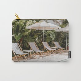 pool time ii / miami beach, florida Carry-All Pouch