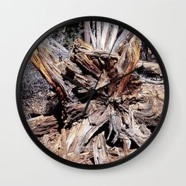 nature views -Tree Wall Clock