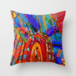 Diavlos Throw Pillow