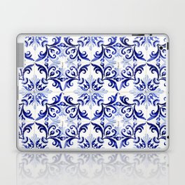 Azulejo V - Portuguese hand painted tiles Laptop & iPad Skin