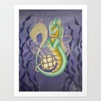 Sea Dragon II Art Print