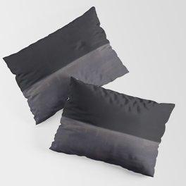 Untitled (Black on Grey) by Mark Rothko HD Pillow Sham