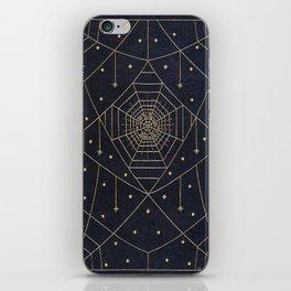 Spider Silk Stars Book iPhone Skin