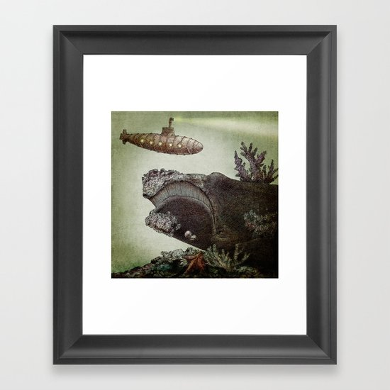 Leviathan (colour option) Framed Art Print
