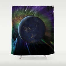 You Run to Catch Up With the Sun (But It's Sinking) Shower Curtain