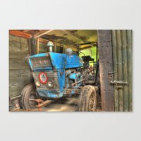 ford Canvas Prints featuring Ford by Stiinno