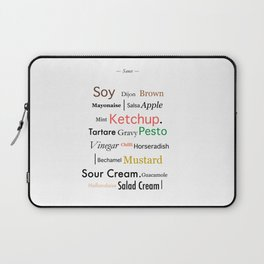 Condiments Laptop Sleeve