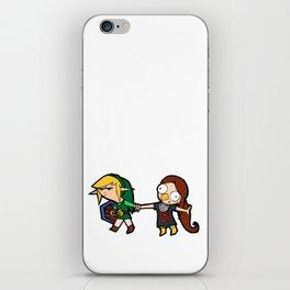 Link and Medli iPhone Skin