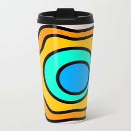 Lonely Travels - Geyser Metal Travel Mug