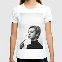 60s T-shirts featuring Cigarettes and the 60s by Corbishley